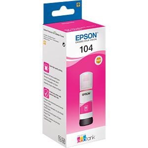 Tinte - Epson - magenta - 104 EcoTank - original EPSON C13T00P340