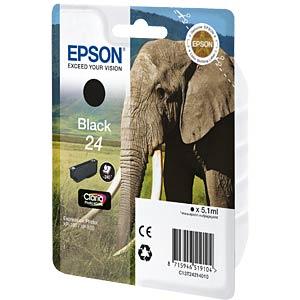 Tinte - Epson - schwarz - T2421 - original EPSON C13T24214010