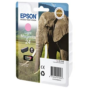 Tinte - Epson - hellmagenta - T2426 - original EPSON C13T24264010