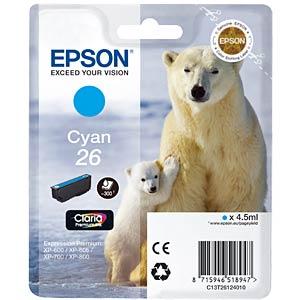 Cyan: Expression Premium XP-600 EPSON C13T26124010