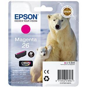 Tinte - Epson - magenta - T2613 - original EPSON C13T26134010