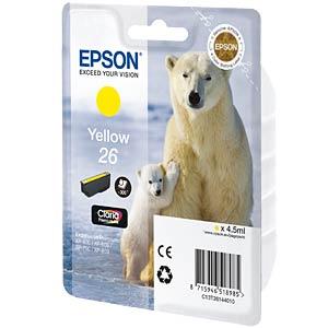 Yellow: Expression Premium XP-600 EPSON C13T26144010