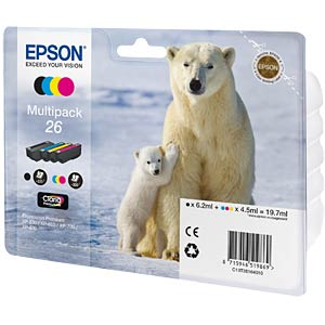 Multi-pack: Expression Premium XP-600 EPSON C13T26164010