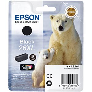 Black XL: Expression Premium XP-600 EPSON C13T26214010