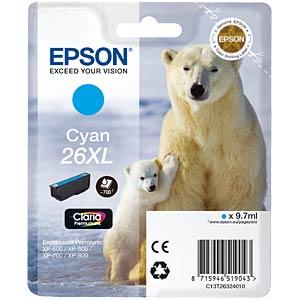 Tinte - Epson - cyan - T2632 - original EPSON C13T26324012