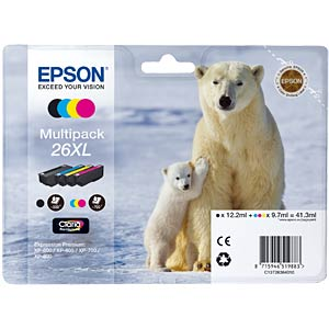 Multi-pack XL: Expression Premium XP-600 EPSON C13T26364010