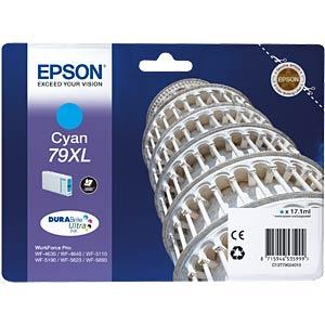 Tinte - Epson - cyan 79XL - T7902 - original EPSON C13T79024010