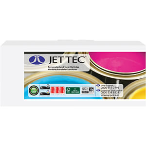 Toner - Brother - cyan - TN241C - rebuilt JET TEC B241C