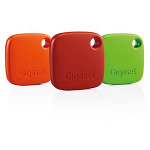 Gigaset G-Tag Set, rot, orange, grün GIGASET COMMUNICATIONS S30852-H2655-R113