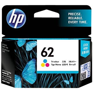 Original HP ink, 3-colour HEWLETT PACKARD C2P06AE#UUS