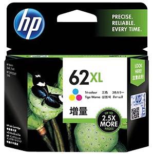 Tinte - HP - 3-farbig - 62XL- original HEWLETT PACKARD C2P07AE#UUS