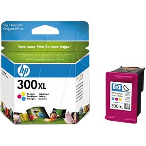 Tinte - HP - color - 300XL - original HEWLETT PACKARD CC644EE#ABD