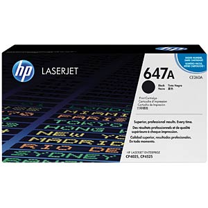 Black toner for CLJ CM4025/CP4525 HEWLETT PACKARD CE260A