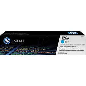 Cyan toner for CLJ Pro CP1025, CP1025NW... HEWLETT PACKARD CE311A