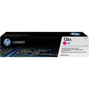 Magenta toner for CLJ Pro CP1025, CP1025NW... HEWLETT PACKARD CE313A