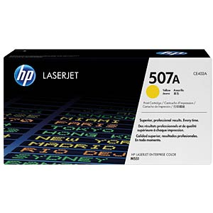 Yellow toner for LJ Enterprise 500 color HEWLETT PACKARD CE402A