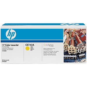 Yellow toner for CLJ CP5225 HEWLETT PACKARD CE742A