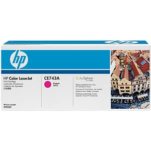 Magenta toner for CLJ CP5225 HEWLETT PACKARD CE743A