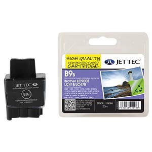 Tinte - Brother - schwarz - LC900 - refill JET TEC B9B