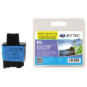 Tinte - Brother - cyan - LC900 - refill JET TEC B9C