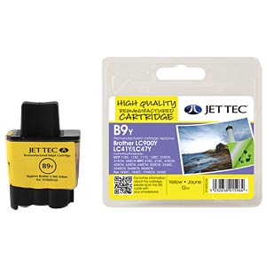 Tinte - Brother - gelb - LC900 - refill JET TEC B9Y