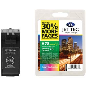 3-Color ink refill for HP Deskjet 930C/950C-... JET TEC 137H007813/101H007813
