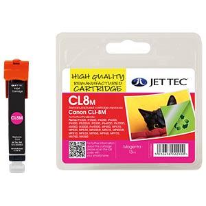 Tinte - Canon - magenta - CLI-8 - refill JET TEC 101C000803