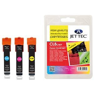 Tinte - Canon - Multipack - CLI-8 - refill JET TEC 101C000820