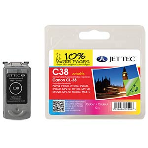 Colour: Canon PIXMA iP2600 JET TEC 101C003813