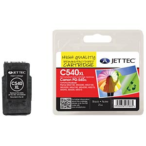 Tinte - Canon - schwarz - PG-540XL - refill JET TEC C540XL
