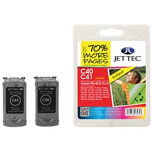 Ink - Canon - MP - PG-40/CL-41 - refill JET TEC C40 C41
