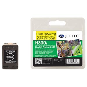 Ink - HP - black - 300 - refill JET TEC 101H030001