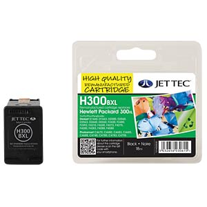 Ink - HP - black - 300XL - refill JET TEC 101H030030
