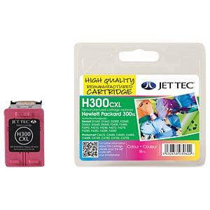 Ink - HP - 3-color - 300XL - refill JET TEC 101H030031