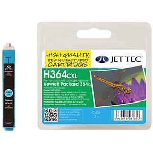 Tinte - HP - cyan - 364XL - refill JET TEC 101H036437