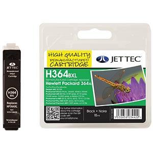 Inkt - HP - zwart - 364XL - navulling JET TEC 101H136430