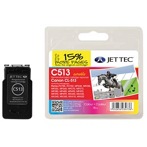 Ink - Canon - color - CL-513 - refill JET TEC C513