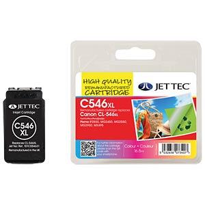 Ink - Canon - color - CL-546XL - refill JET TEC C546XL