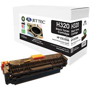 Toner - HP - schwarz - CE320A - rebuilt JET TEC 199H032001