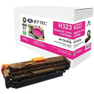 Toner - HP - magenta - CE323A - rebuilt JET TEC 137H032303