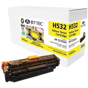 Toner - HP - gelb - 304A - rebuilt JET TEC 137H053204