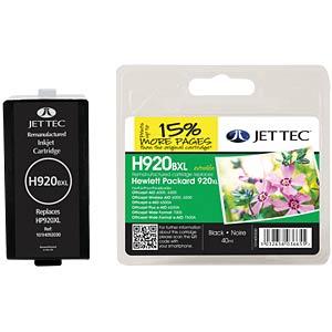 Inkt - HP - zwart - 920XL - navulling JET TEC 101H092030