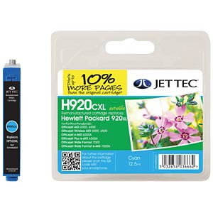 Tinte - HP - cyan - 920XL - refill JET TEC 137H092037