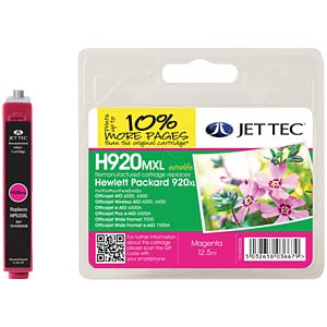 Tinte - HP - magenta - 920XL - refill JET TEC 137H092038 / 101H092038