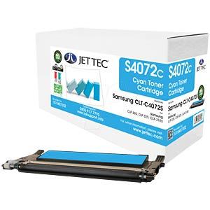 Toner - Samsung - cyan - C4072S - rebuilt JET TEC 137S407202