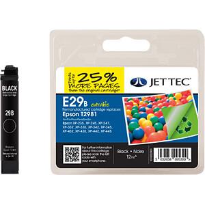 Tinte - Epson - schwarz - T2981- refill JET TEC 101E002901