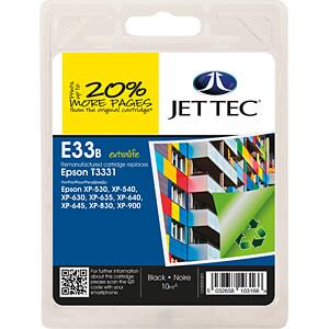 Tinte - Epson - schwarz - T3331 - refill JET TEC 101E003301