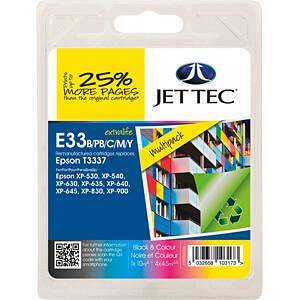 Tinte - Epson - Multipack - T3337 - refill JET TEC 101E003326