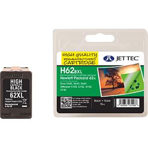 Inkt - HP - zwart - 62XL - navulling JET TEC 137H006230
