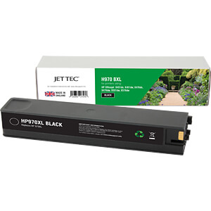 Ink - HP - black - 970XL - refill JET TEC 101H097030